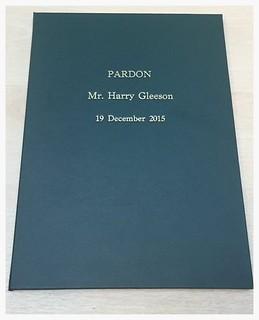 Harry Gleeson Pardon