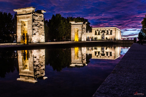madrid pink sunset wallpaper sky españa green nature night sunrise atardecer temple lights amazing spain nikon creative commons full hd comunidad templo anochecer debod comons d5100