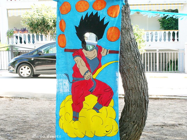 Photocall Son goku  Dragon ball Merbo Events