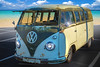 Volkswagon Van, Topaz BuzSim (Cars & Coffee Of The Upstate)