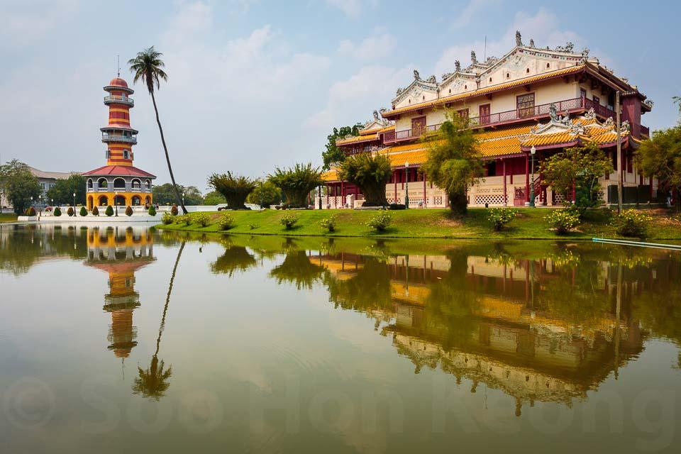 Bang Pa-In Palace @ Ayutthaya, Thailand