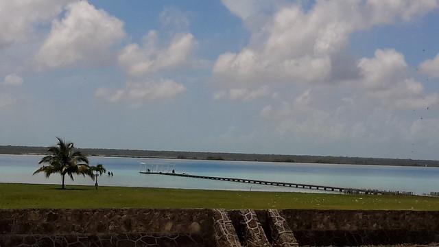Laguna de Bacalar, México.