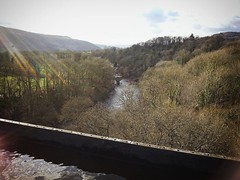 Views from the Pontcysyllte Aquaduct #2016pad #canal #northwales #running