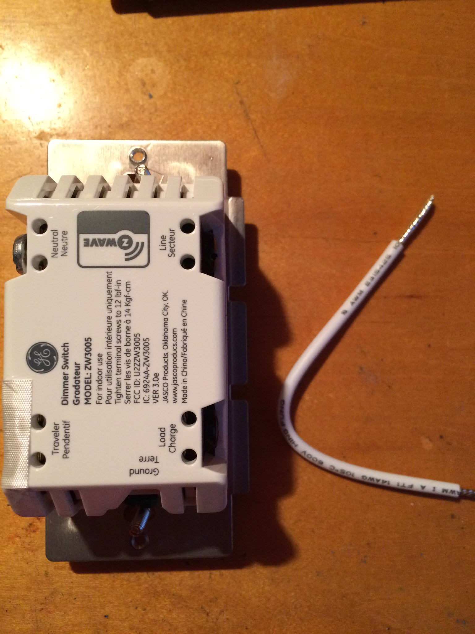 Dimmer Switch Ground Not Attached Exposed Hot Wire Do I Have A Automation Because Smart Light Switches Require Both And Neutral Box In My Room With Wires Pulled Out Power Off By Rr Reo On Flickr