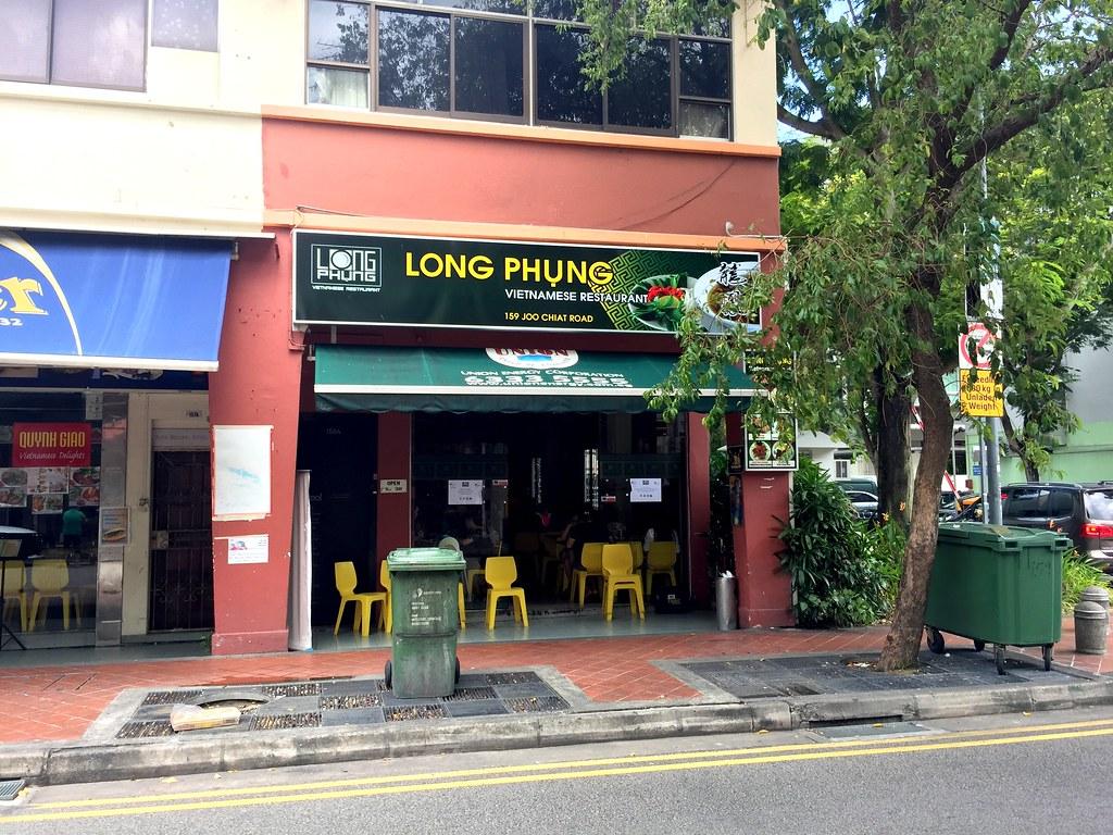 Long Phung Vietnamese Restaurant Front