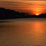 Another glowing sunset at Preston Docks