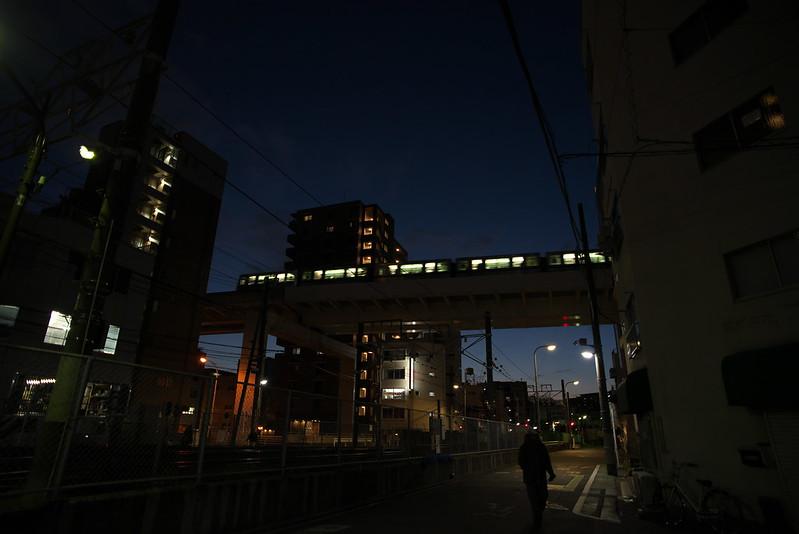 Tokyo Train Story 日暮里・舎人ライナー 2016年2月7日