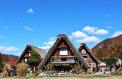 【日本北陸】絕美合掌村-世界文化遺產,如畫般的人間仙境,真的是隨便怎麼拍都美!∣ 日本旅遊 北陸行