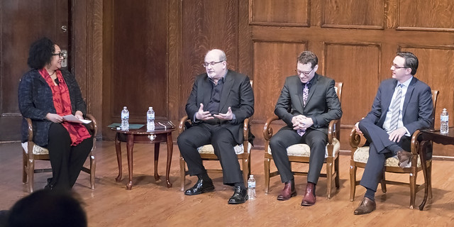 Adrienne Davis Salman Rushdie Jack Perla Timothy O'Leary