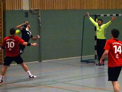 Kreisliga: Rot-Weiß Merl 28:28 HSG Sieg (Schulzentrum Meckenheim)