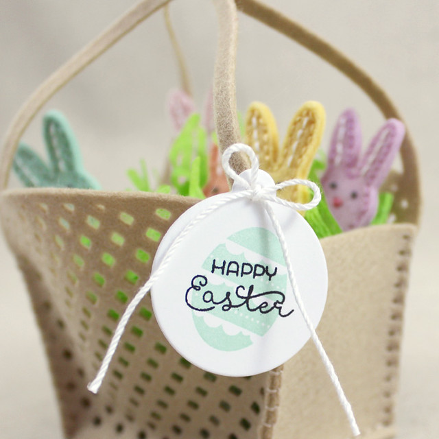 Happy Easter Mini Tag