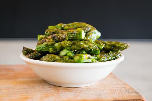 sautéed asparagus tips