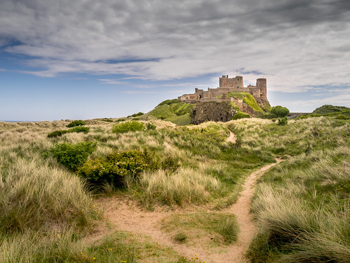 An image of Bamburgh Castle.