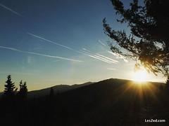 (01/2016) The sun sets behind Mount Pilat // Le soleil se couche derrière le Mont Pilat (depuis le Mont Ministre - Pilat - France) #sun #sunset #mount #mountain #mountains #sky #skylovers #skyporn #instasky #clouds #cloudporn #beautiful #montpilat #montmi