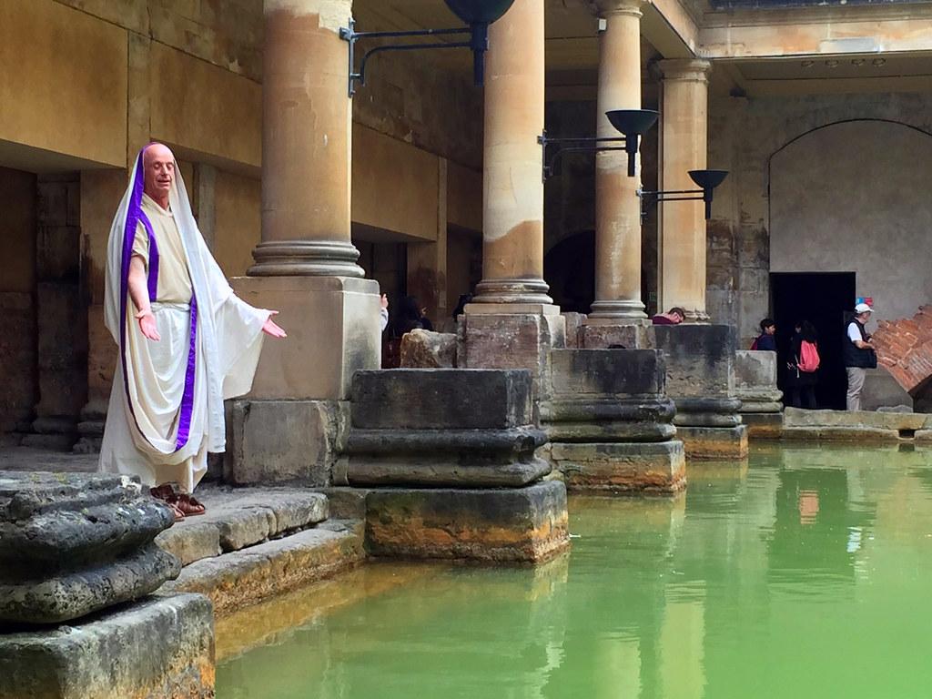 Baños Romanos de Bath en Inglaterra Bath en un día, el SPA de Roma en Inglaterra Bath en un día, el SPA de Roma en Inglaterra 25057215082 519b30ab56 b