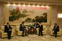 U.S. Department of the Treasury: Treasury Secretary Jacob J. Lew meets with Communist Party Secretary Han Zheng (Monday Feb 29, 2016, 5:16 PM)