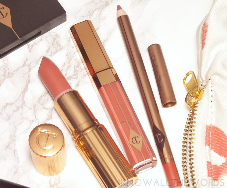 Charlotte Tilbury K.I.S.S.I.N.G Bitch Perfect, Lip Lustre Sweet Stiletto, Lip Cheat Pink Venus (2)