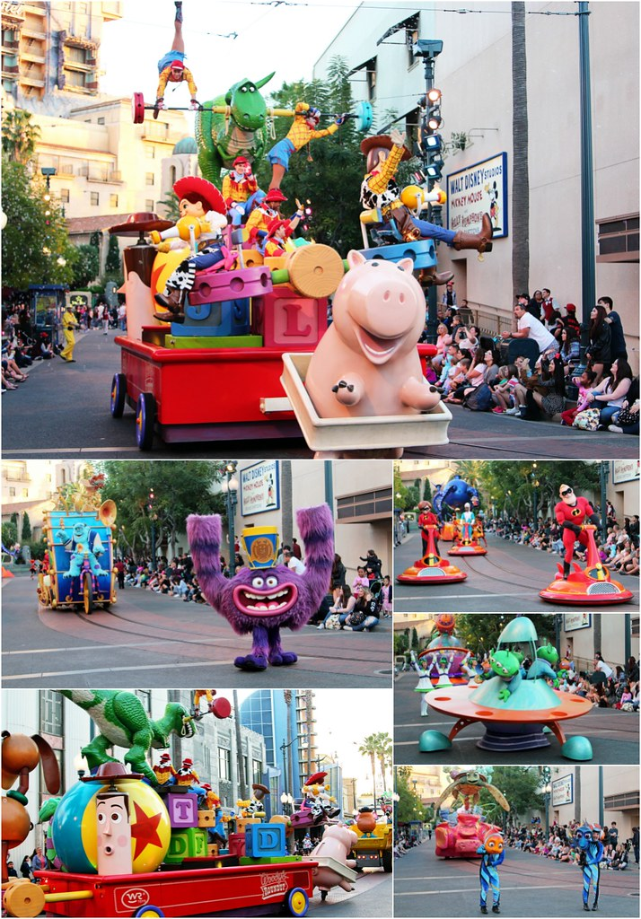 Pixar Play Parade Disney California Adventure