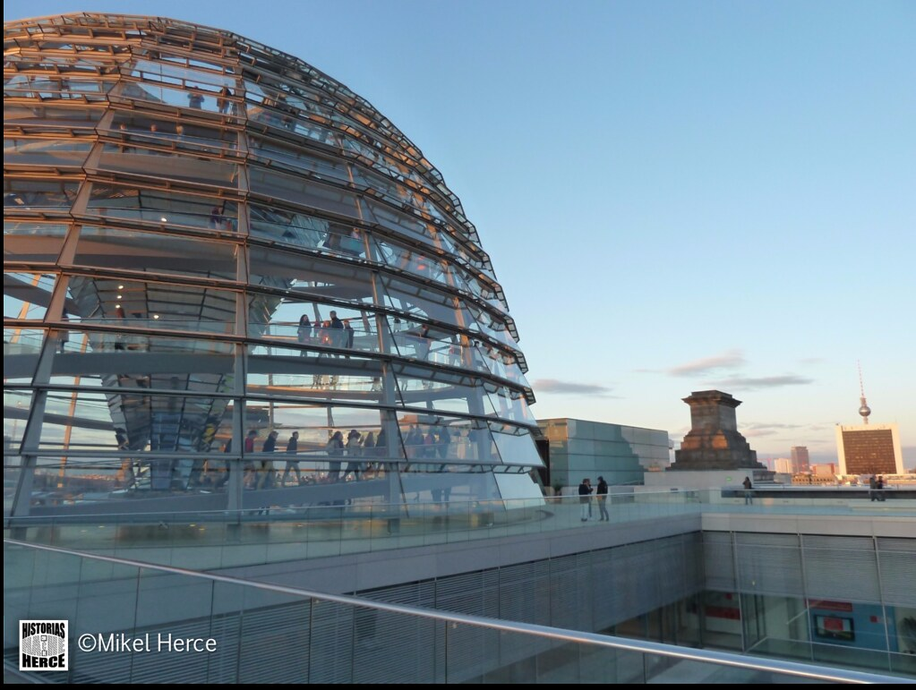 83. Cúpula del parlamento Aleman