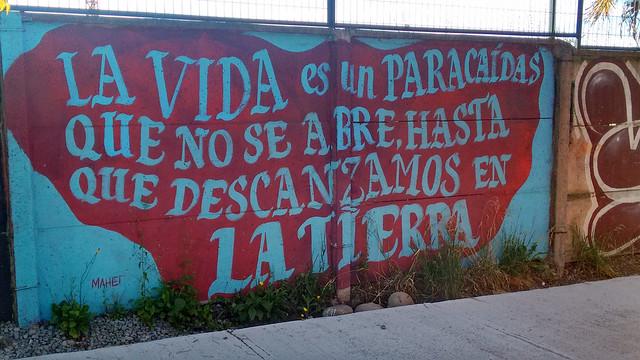 Street Art in Villarica, Chile