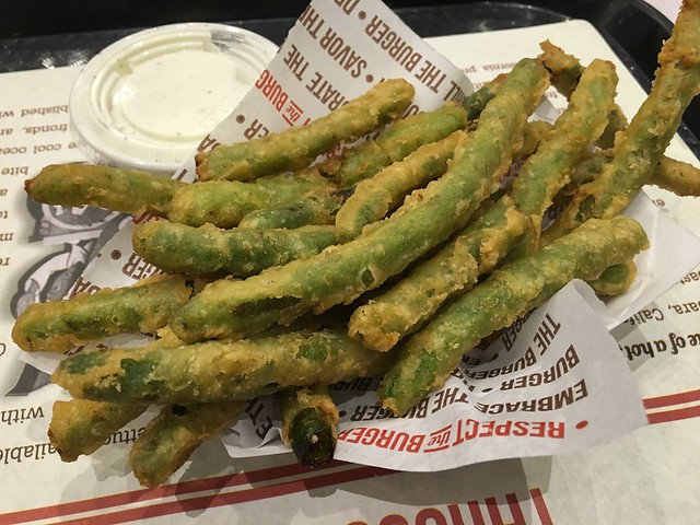 Tempura green beans - The Habit Burger Grill