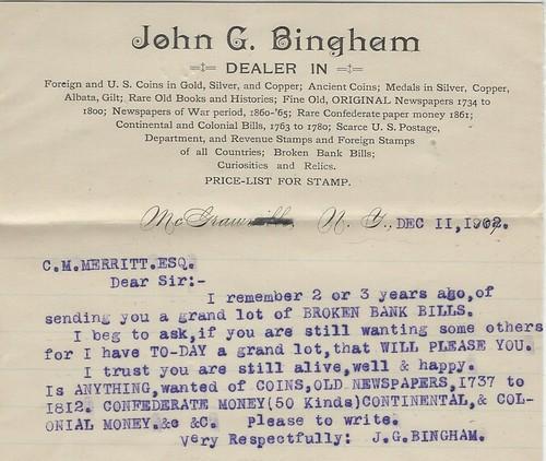 Bingham, John G. 12-11-1902
