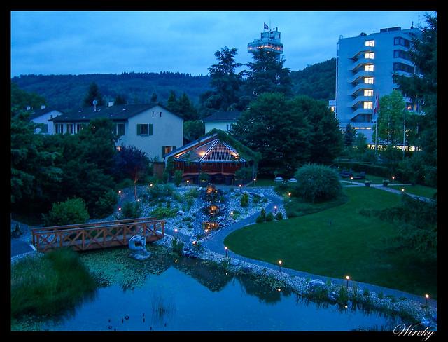 Qué ver qué hacer suiza Bad Zurzach - Jardines y oasis del Park Hotel