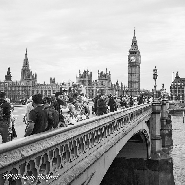 Westminter Bridge and Big Ben-20150805
