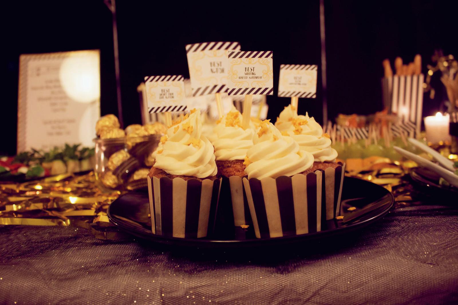 aperol cupcakes {oscar buffet 2016}