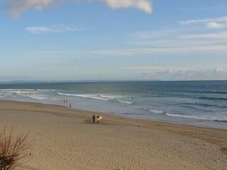 תמונה של Praia de Carcavelos ליד Carcavelos.