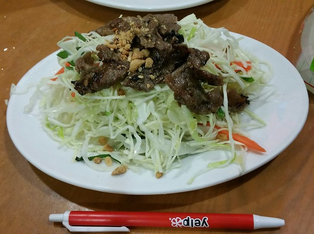 2016-Mar-3 Song Huong - Beef 7 Ways - salad