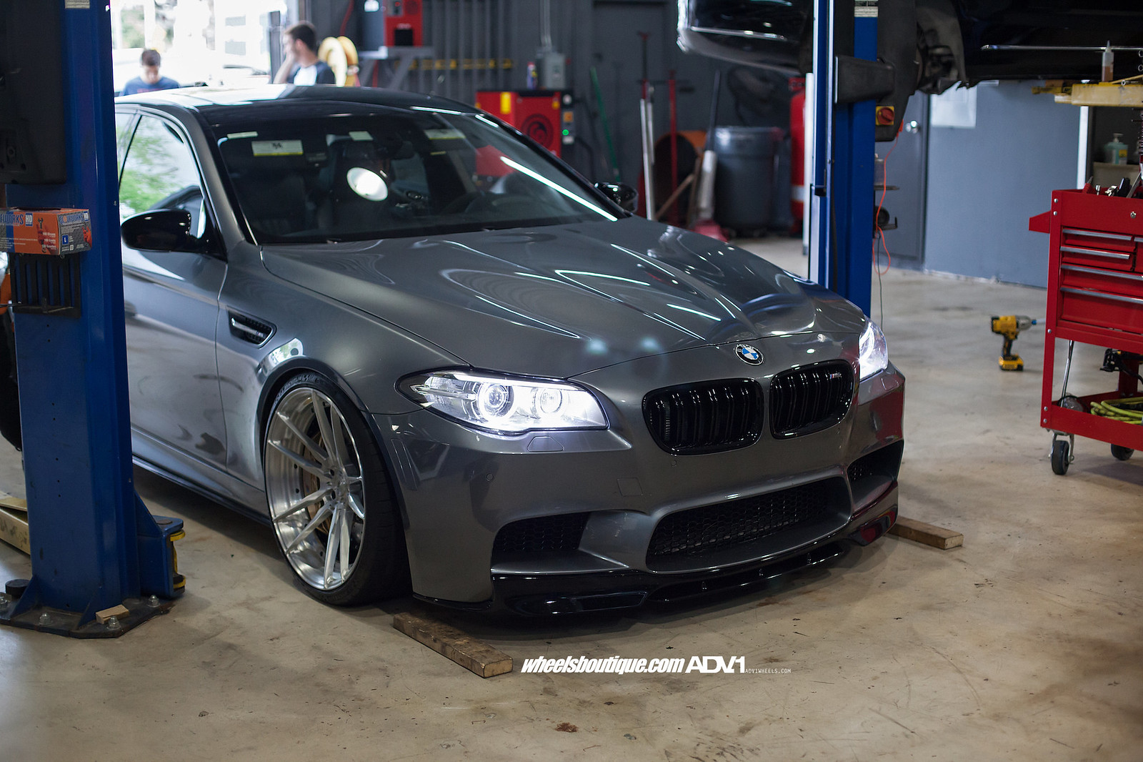 Out Of This World Space Gray Bmw F10 M5 On Adv5 2 S By