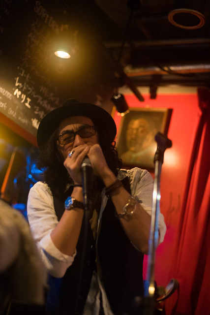 T.G.I.F. Blues Session at Terraplane, Tokyo, 08 Apr 2016 -00081