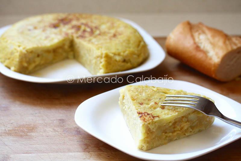 TORTILLA DE PATATAS Y CALABACIN-24