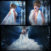 Tiffany Designs hunt Ariella dress collage