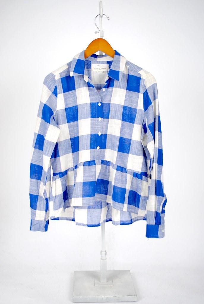 Classic Shirt with Peplum