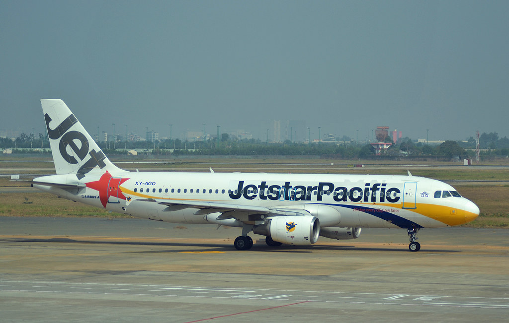 Jetstar Pacific Airbus A320-200 [XY-AGO] - Ho Chi Minh Airport