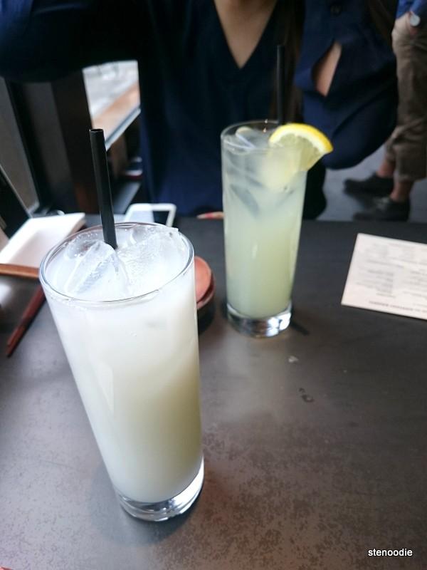 Calpico and Homemade Lemonade