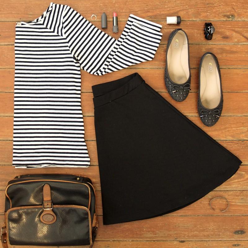 Flatlay Skirt