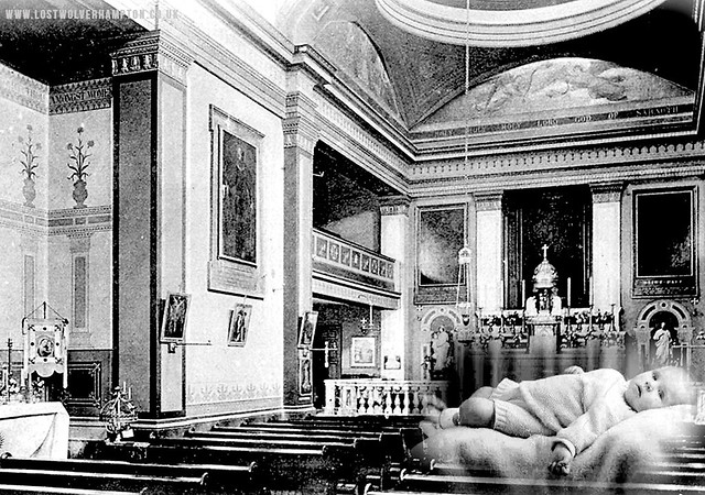 I was baptised in our family church of St Peter and Pauls, Paternoster Row, North Street in September 1937.