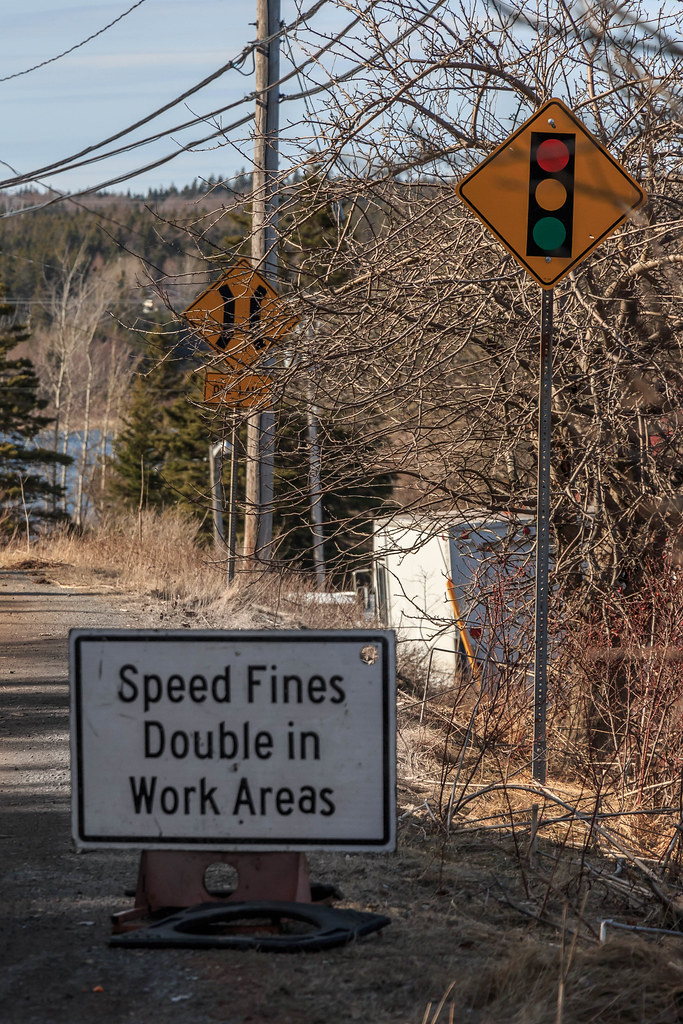 speed fines double in work areas