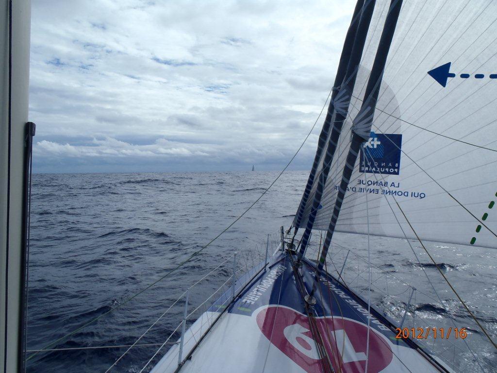 Photos reçues du bord - jour 6 - 16-11-12 / BPCE