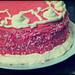 Tarta pantera rosa / pink panther cake