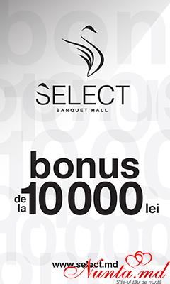 Select Banquet Hall > Mega-Ofertă de la Select- Banquet Hall!