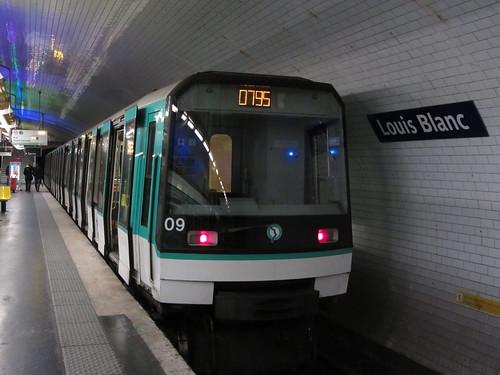 Louis Blanc métro