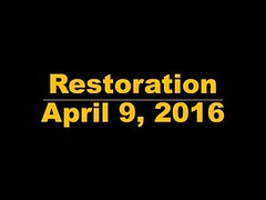 Six Thirty Saturday Nite (Spirit of Restoration) - April 9, 2016