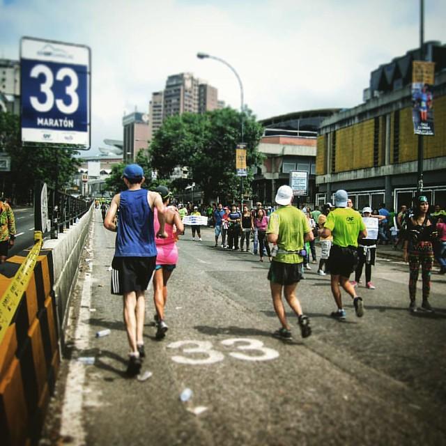 Por la edad de CRISTO.  — #maratoncaf2016 #CAF42K2016