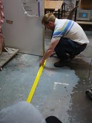 Bristol Hackspace: New Floor Markings
