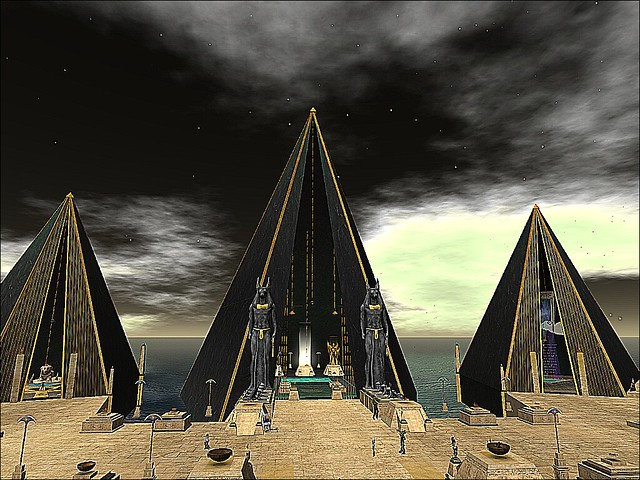 The Golden Delta - Anubis Pyramid Plaza