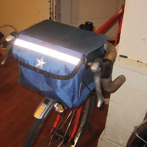 Blue xpac semi-traditional rando bag